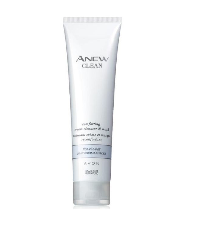 Avon Anew Clean Comforting Cream Cleanser & Mask