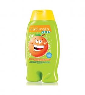 Avon Naturals Kids Body Wash & Bubble Bath- Outgoing Orange