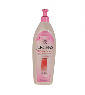 Jergens Scent Moisturizes & Softens- Pink