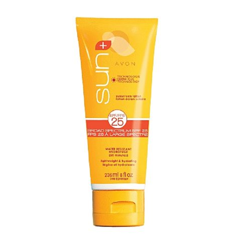 Avon Sun+ Sunscreen Lotion Broad Spectrum SPF 25