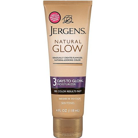 Jergens Natural Glow 3 Days To Glow Moisturizer – Medium To Tan
