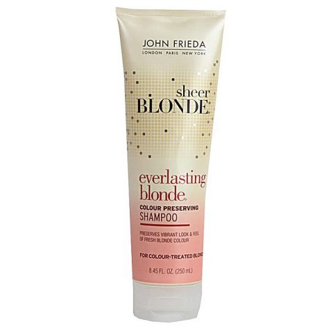 John frieda Sheer Everlasting Blonde Colour Preserving Shampoo