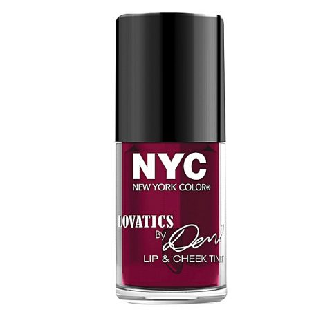 NYC Lovatics By Demi Lip & Cheek Tint- Cheeky Berry