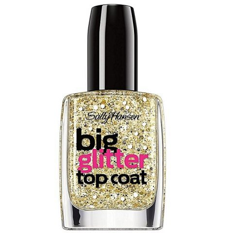 Sally Hansen Big Glitter Top Coat – Goldi-Flecks