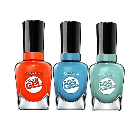 Sally Hansen Miracle Gel Nail Color – Mintage, Rhythm & Blue, Tribal Sun
